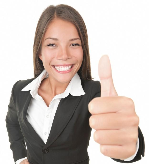 Success business woman